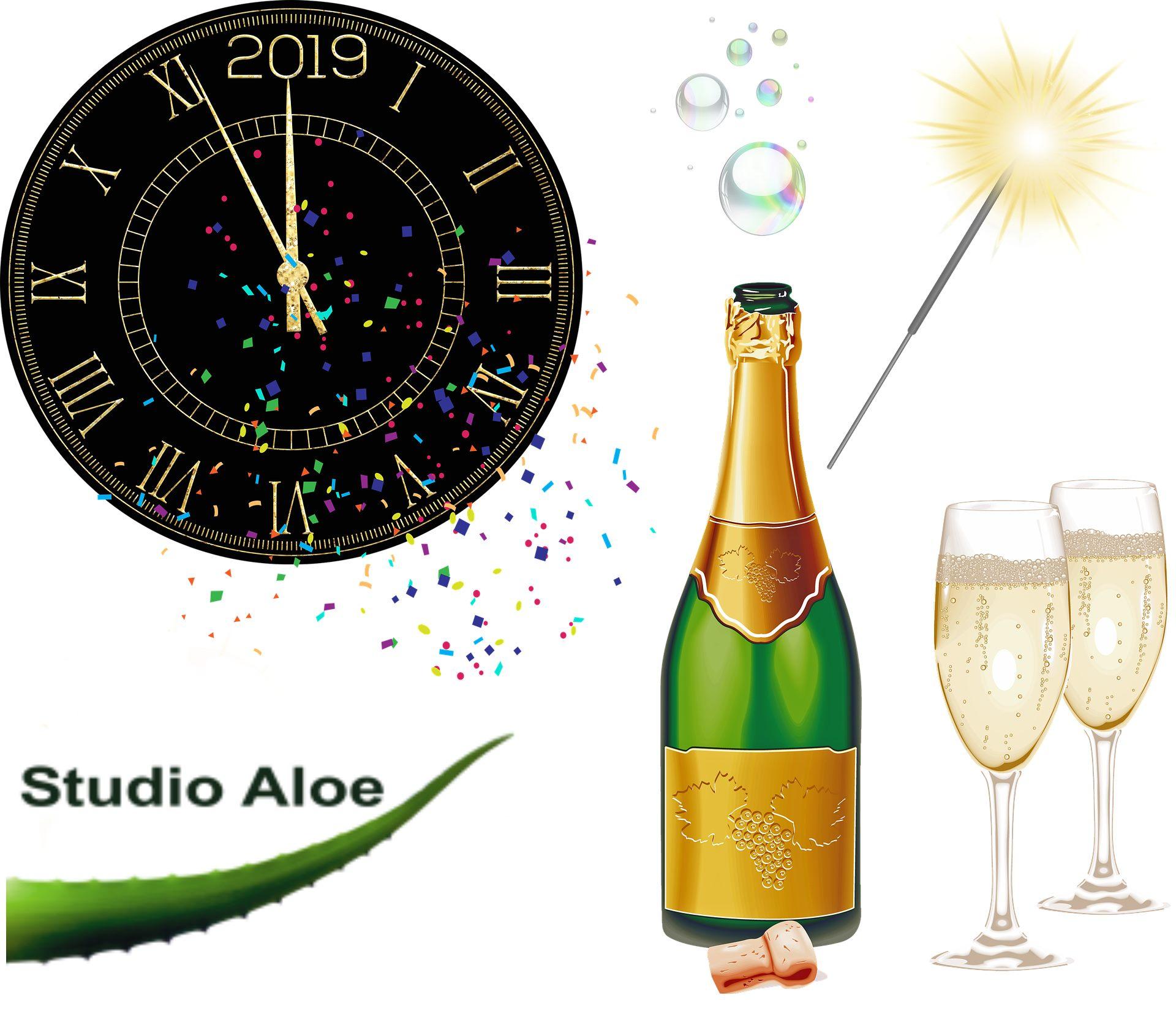 Godt Nytår fra studioaloe