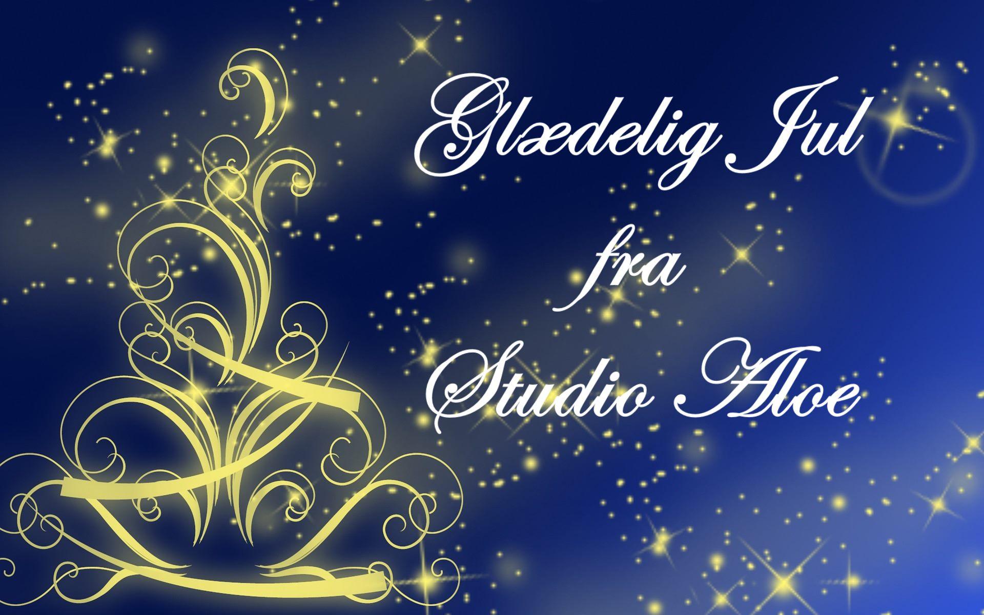 Glædelig Jul fra studioaloe