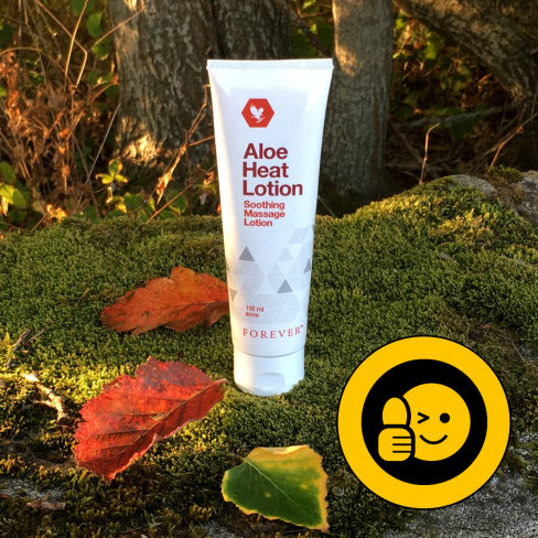 Aloe Heat lotion til massage fra studioaloe