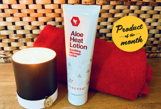 Heat lotion en god massagelotion fra studioaloe